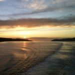 Sunset over Mull