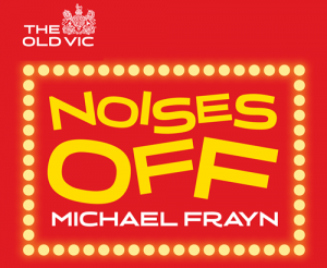 Noises Off by Michael Frayn - logo