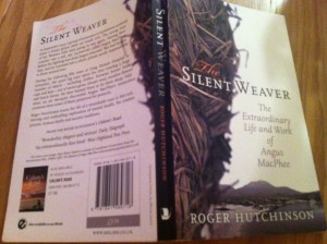 Photograph of cover of The Silent Weaver