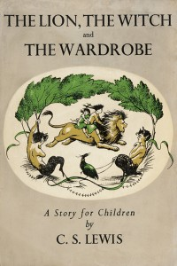The first edition of 'The Lion, the Witch and the Wardrobe'