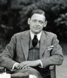 T.S. Eliot - Eliot's verse is known for its musical qualities which come alive when read aloud. (Public domain image.)